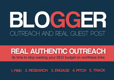5 Guest Post on DA 40+ Link Building Do-Follow Blogger outreach