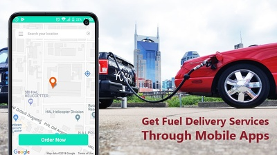Develop on-demand fuel delivery application