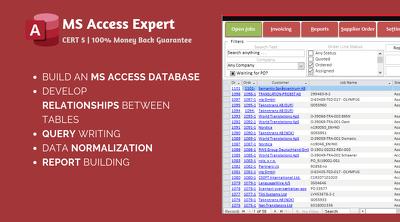 Create/enhance/fix MS Access Database