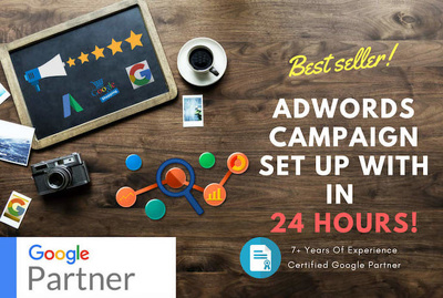 set up google adwords PPC campaign in just 24 hours
