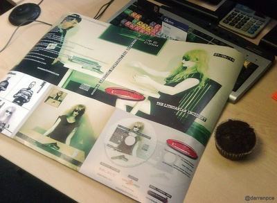 Design your new album cover (digipak etc). Photography extra
