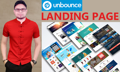 design High Converting Landing Page On Unbounce