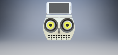 provide a 3d printable speakers case-Customized