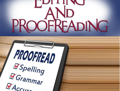 I will edit and proofread any document up to 1000 words