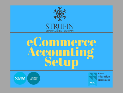 ECommerce Accounting Complete Set Up-Xero