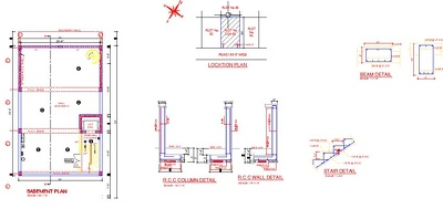 Create floor plan and other blueprint for Architectural