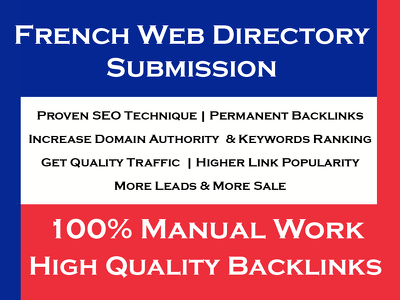 French Web Directory Submission To Grow Business In France