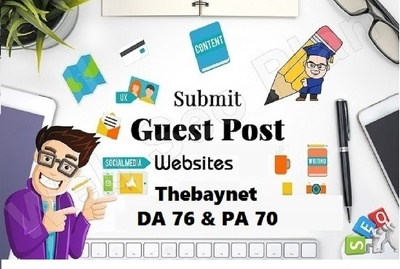 Write and publish A guest post thebaynet.com