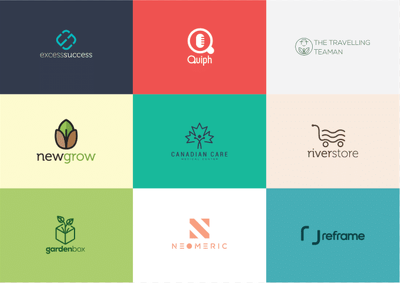 Design a clean and modern logo
