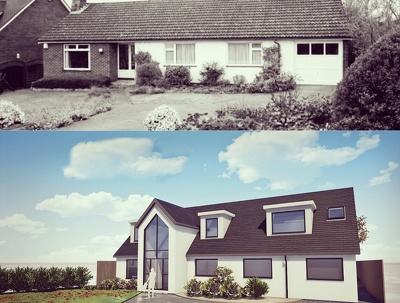 Submit planning permission for your extension