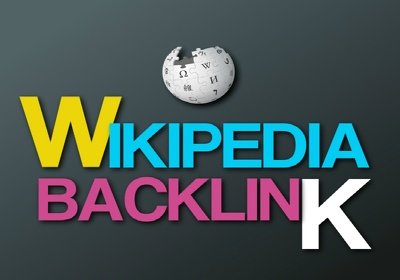 Deliver a backlink form Wikipedia