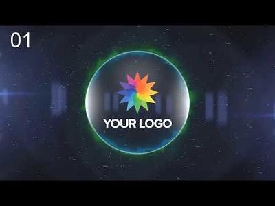 Make 3 awesome logo reveal videos / logo stings (50 samples)