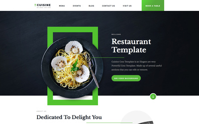Design an awesome restaurant website in shopify