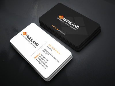 Design a unique business card in 12 hr
