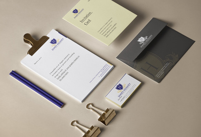 Premium Corporate Stationery Pack with unlimited revisions