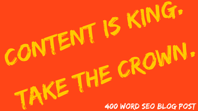 Create an SEO friendly blog post or article of 400 words