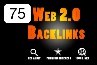 Do 75 Web 2 Backlinks