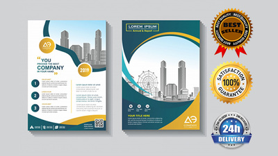 Design Creative Flyer Or Brochure In 24 Hours