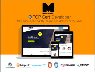 Design and create a Wordpress website