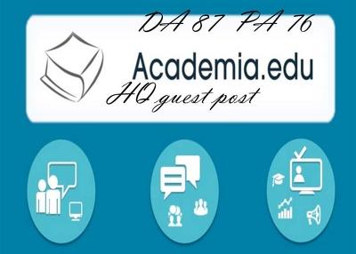 Publish a HQ guest post on Academia.edu