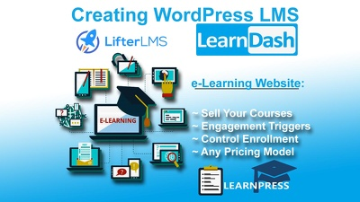Build E Learning Website Or Lms Package For You
