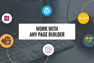 Develop WordPress website with Elementor, Divi or Beaver Builder