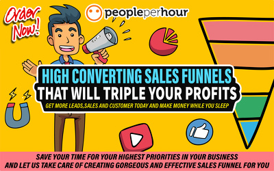 ✅ create Sales Funnels & Landing Pages in ClickFunnels