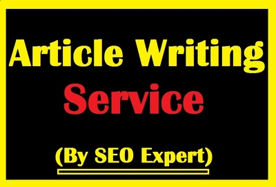 Write one unique SEO article of 500 words for you