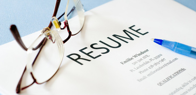 Write for you a professional resume