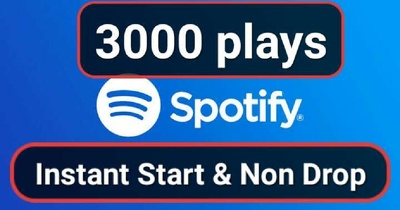 Do Play your Spotify song 3000 times to boost your rankings