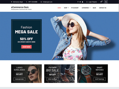 Create fully featured ecommerce website using wp elementor