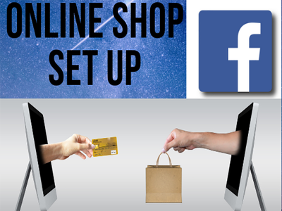 Set up an online shop on Facebook
