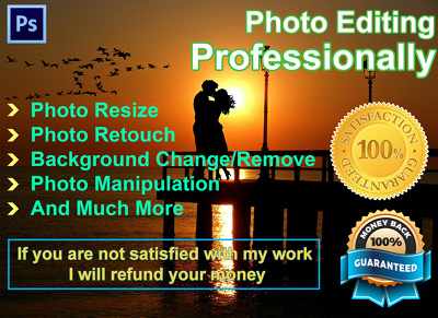 Do Any 15 Photo Editing Work On Photoshop very fast