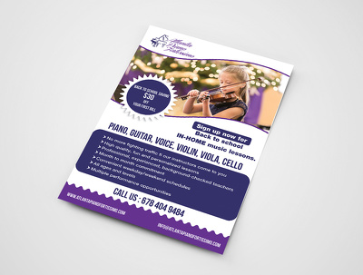 Design Attractive And Creative Flyers