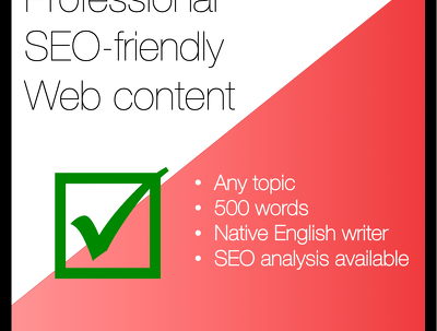 ➡︎ Professional, SEO-friendly website content - 500 words