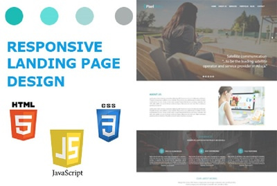 Create A Modern And Responsive Landing Page