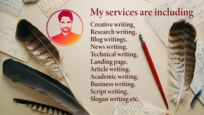 Provide copy writings and proof reading services