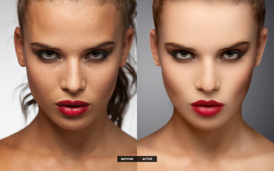 Provide you beauty retouching in any 4 photos