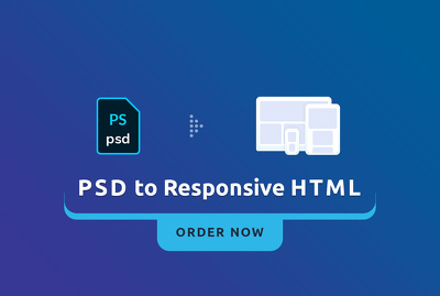 Convert PSD to HTML/BootStrap