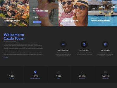 Design professional & responsive 5-page static WORDPRESS website