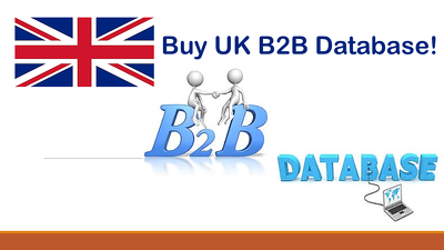 Provide UK B2B database in excel format 40k+ emails