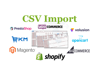 Bulk Upload Products to Ecommerce Store with CSV Import