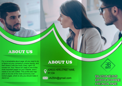 Design compelling Brochure of high quality