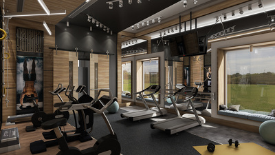 Design your gym in 3D
