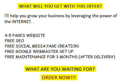 Develop 5 pages WordPress website