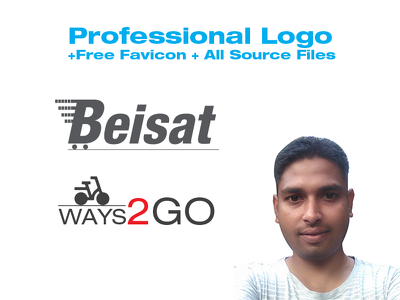 Professional Logo+Free Favicon + All Source Files