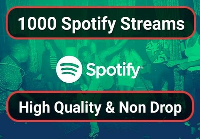 Do 1,000 Spotify Promotion Gain Real Streams