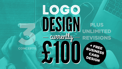 Design a logo with 3 concepts and unlimited revisions