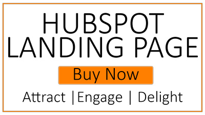 Build Hubspot Landing page or webpage