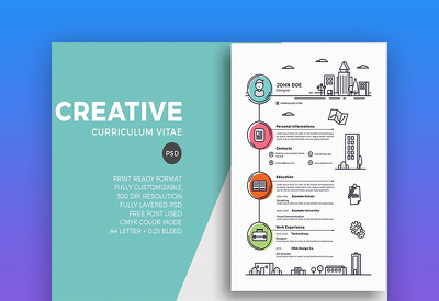 Design and re-write your CV